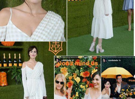 Camilla Belle, sabato con gli amici al Veuve Clicquot Polo Classic (update)