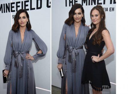 """Camilla Belle a New York per il lancio dell'audiolibro """"The Minefield Girl"""" di Sofia EK"""