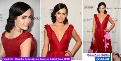 Camilla Belle al Los Angeles Ballet Gala 2018