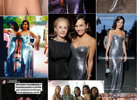 Camilla Belle al gala di Ralph Lauren festeggia RL50 (NYFW 2018)