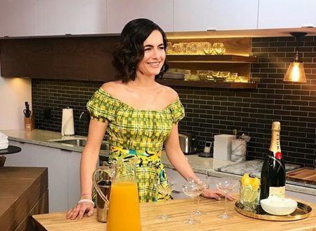 Camilla Belle ad Access Live presenta il cocktail ufficiale dei Golden Globes